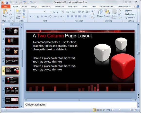 Cómo Hacer Unos Dados En PowerPoint 2010 Utilizando Formas?