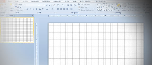 Plantilla cuadriculada para powerpoint for Paginas para hacer planos gratis