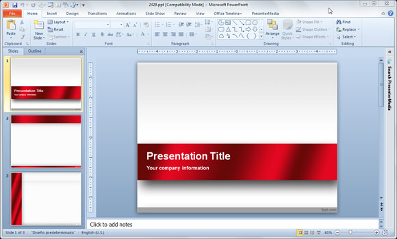 how to make powerpoint portrait 2016