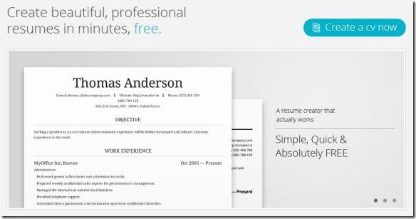 u00bb crear y compartir curriculums vitae profesionales online