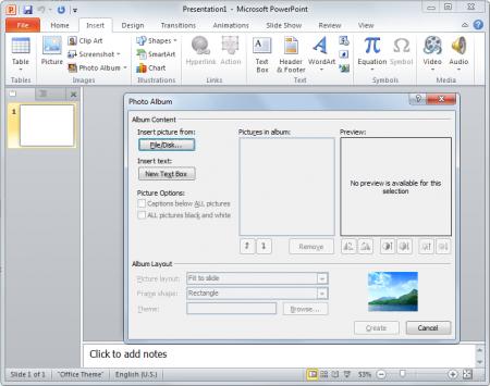 Con PowerPoint podemos crear un álbum de fotos digital utilizando las funciones que nos ofrece esta fantástica herramienta.