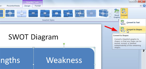 diagramas en powerpoint