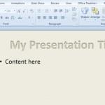 Efectos especiales en las letras de PowerPoint