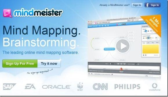 Mapas Mentales con Colaboración Online