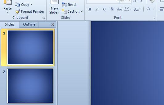 diapositivas y esquema de PowerPoint