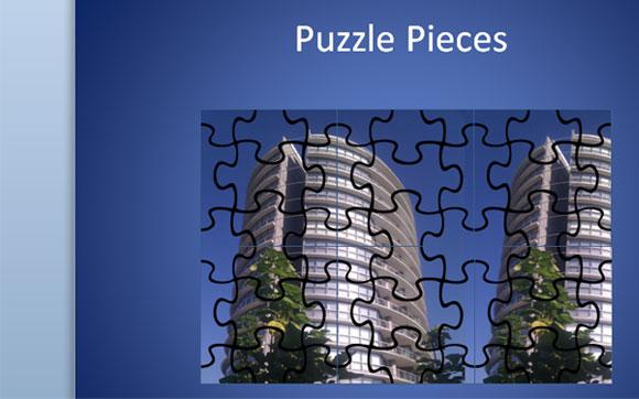 Plantilla De Puzzle Para Powerpoint