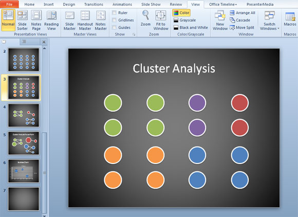 cluster powerpoint conglomerados
