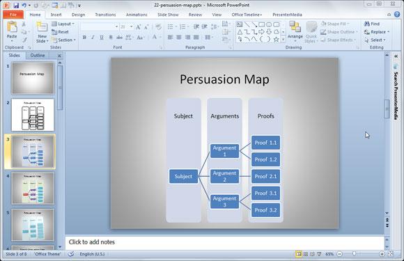 u00bb c u00f3mo hacer mapas de persuasi u00f3n en powerpoint