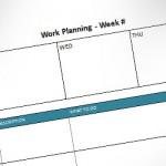 Plantilla de Planificación Semanal para Microsoft Word