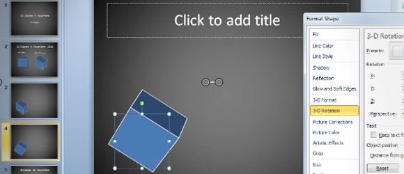 crear objetos 3d powerpoint