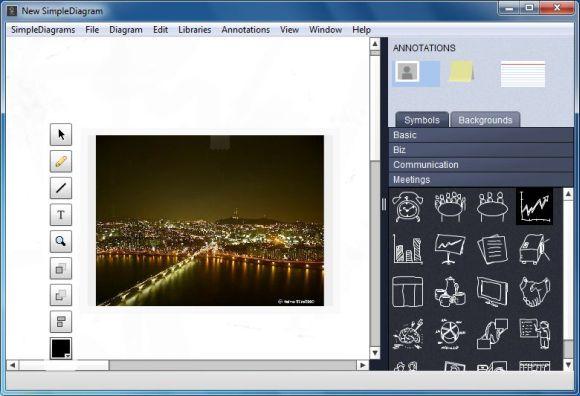 agregar fotos a diagramas