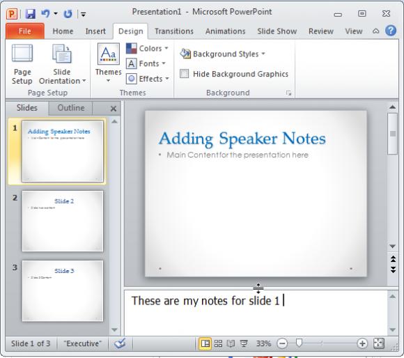 Cómo Agregar Notas a las Diapositivas de PowerPoint