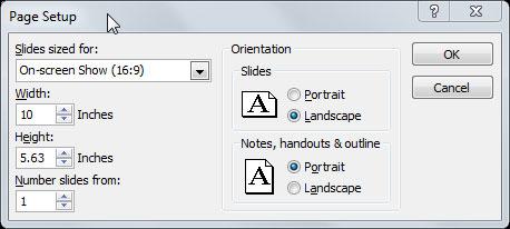 Aspect Ratio en PowerPoint