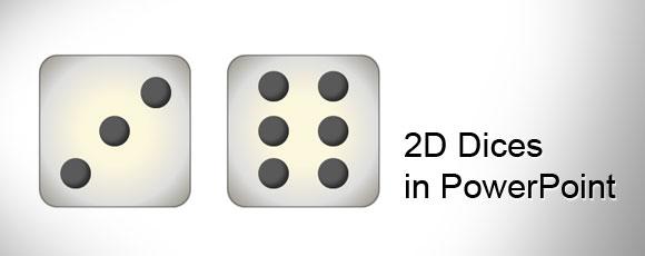 ¿Cómo hacer unos dados en PowerPoint 2010 utilizando formas?