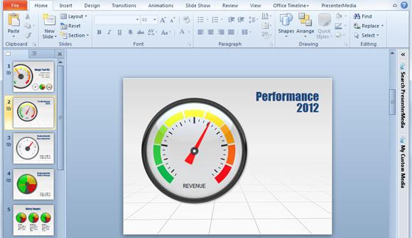 dashboard powerpoint