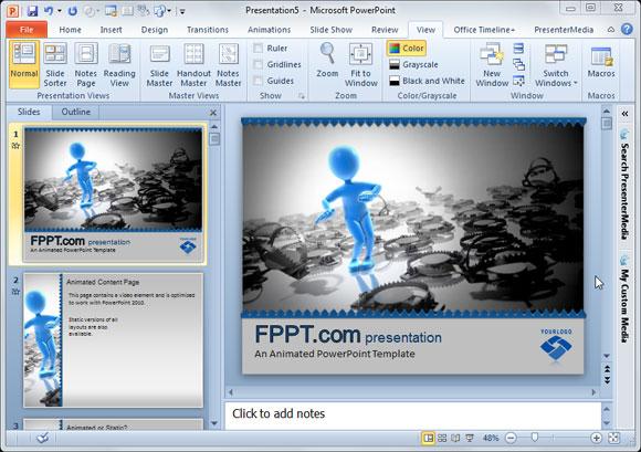 cómo crear y usar monigotes en presentaciones de powerpoint