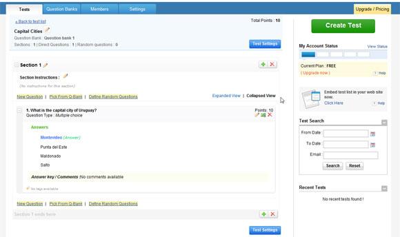 Para Crear Cuestionarios Online Gratis