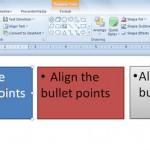 Cómo Alinear las Viñetas en PowerPoint 2010