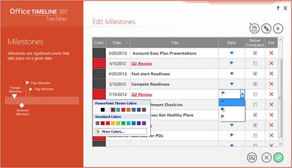 crear lineas de tiempo powerpoint gantt