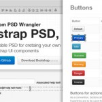 Plantilla Bootstrap PSD de Twitter para Photoshop