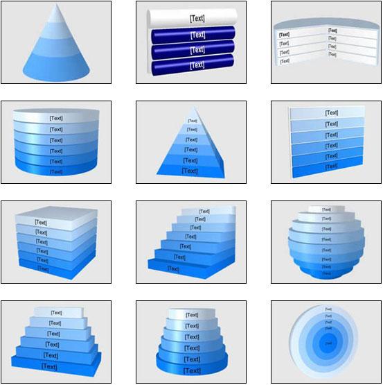 diseño powerpoint gráficos