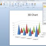 gráficos 3d powerpoint
