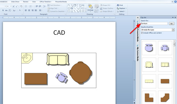 cad powerpoint