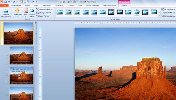 Diferentes Métodos para Insertar Imágenes en una Presentación de PowerPoint