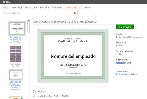 diapositivas PowerPoint en Español