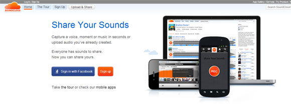 powerpoint sound cloud