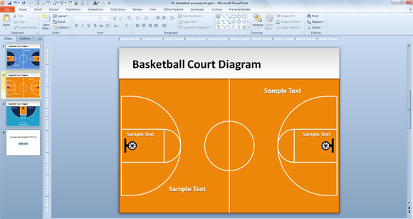 Descargar plantillas para Power Point Basketball