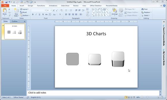 dibujos 3d powerpoint