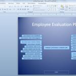 Cómo Hacer un Plan de Evaluación del Esfuerzo del Empleado en PowerPoint 2010