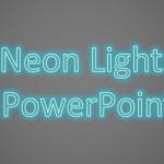 Añadir Efecto de Neón en un Texto de PowerPoint