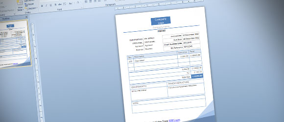 Diseño de facturas profesionales usando PowerPoint