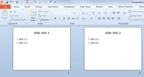 Crear Una Presentación De Powerpoint Desde Un Archivo De Texto