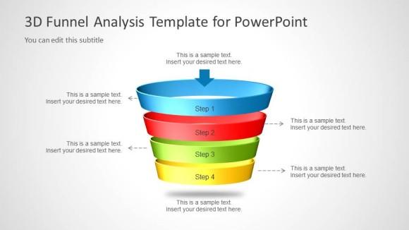 Diagrama de Embudo para PowerPoint