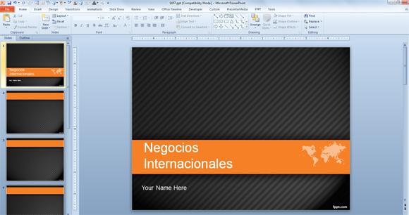 PPT presentaciones de Negocios Internacionales