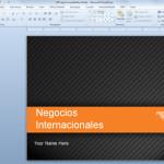 Presentaciones PowerPoint para Conferencias Online