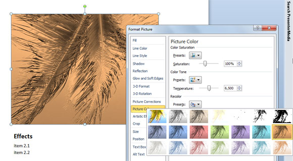 Recolor PowerPoint