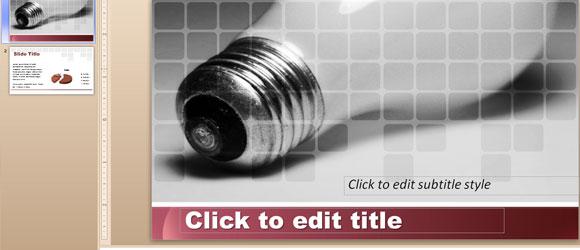 Ejemplo de Discurso de Apertura para Presentaciones - Ejemplo de Lámpara usada en Presentación