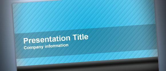 Ejemplo de plantilla para PowerPoint 2010 Widescreen