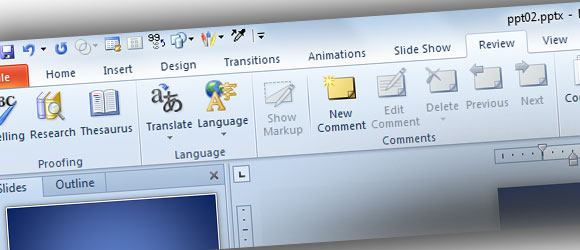 Revisiones En PowerPoint 2010