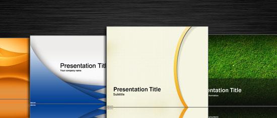 Fondos PowerPoint Abstractos para presentaciones