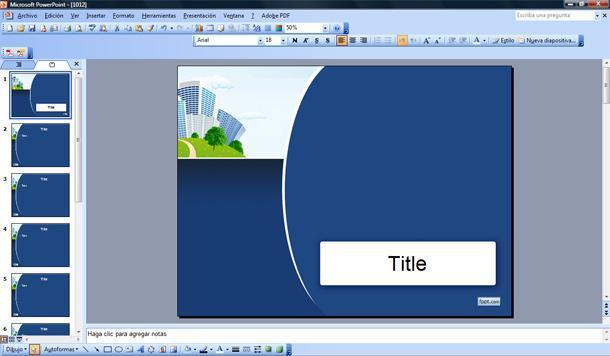 Enterprise PowerPoint Template