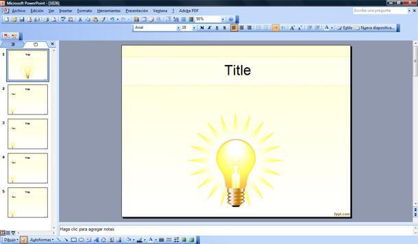 idea plantilla powerpoint