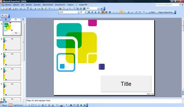 mosaic powerpoint template