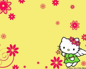 Hello Kitty Wallpaper PPT