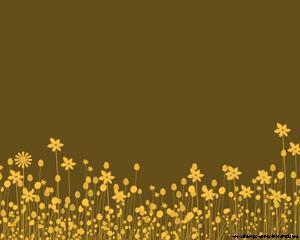 Bloom garden Powerpoint template