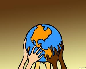 Salvando el Planeta Powerpoint PPT Template